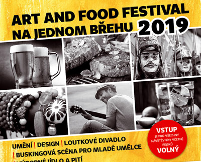 Art and Food festival Na jednom břehu