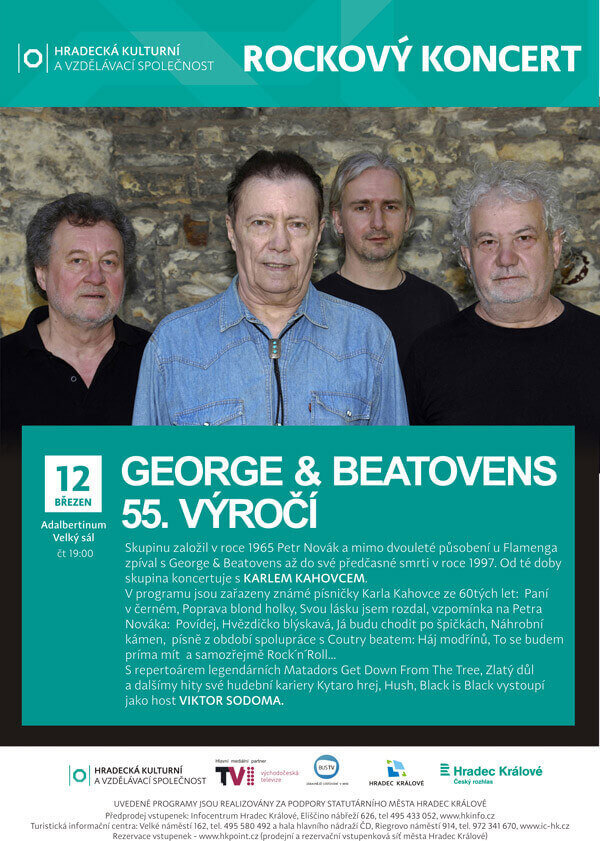 KAREL KAHOVEC, VIKTOR SODOMA  + GEORGE AND BEATOVENS