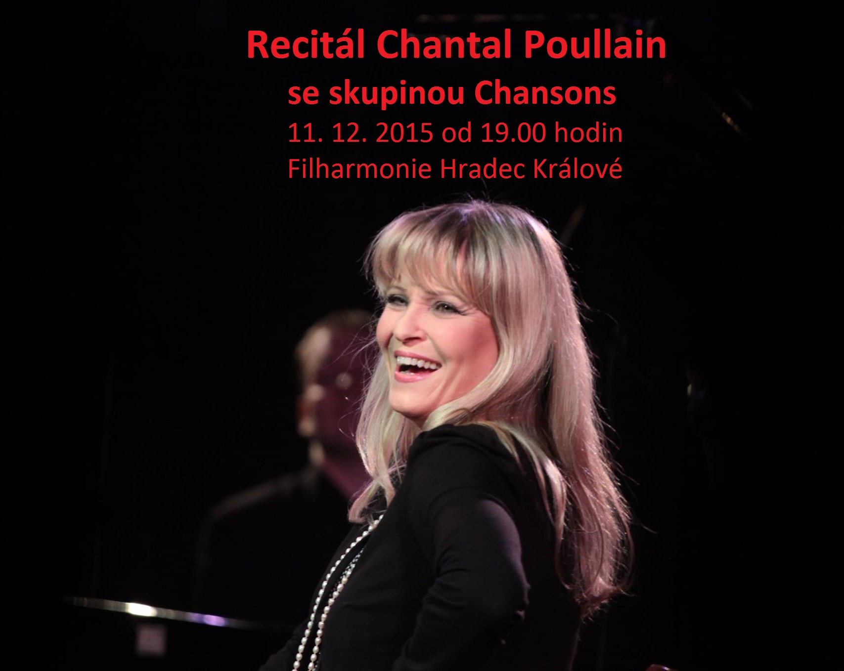 Recitál Chantal Poullain se skupinou Chansons